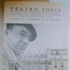 Libros de segunda mano: PABLO NERUDA - DOS RECITALES DE SU POESIA - PROGRAMA FIRMADO DEDICADO SIGNED. Lote 132497874