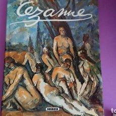 Libros de segunda mano: GRANDES PINTORES CÉZANNE. Lote 132586994