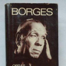 Libros de segunda mano: OBRAS EN COLABORACION - JORGE LUIS BORGES. Lote 132690762