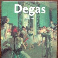 Libros de segunda mano: EDGAR DEGAS.1834 - 1917. BERND GROWE. . Lote 132728542