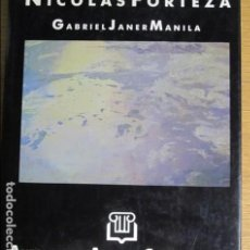 Libros de segunda mano: NICOLÁS FORTEZA. POR GABRIEL JANER MANILA. ANTOLOGIA D'ARTISTES CONTEMPORANIS, 1989. Lote 132823150