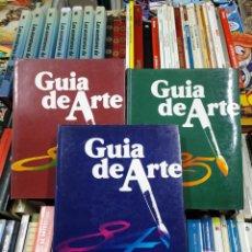 Libros de segunda mano: GUIA DEL ARTE. 3 TOMOS VOLUMENES. LUIS PORCEL. JOSEP DIAZ MARTORI. XAVIER SABATA. TDK320. Lote 132924166