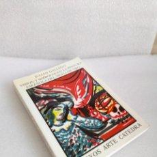 Libros de segunda mano: VISION Y SIMBOLOS EN LA PINTURA ESPAÑOLA DEL SIGLO DE ORO JULIAN GALLEGO CATEDRA 1996 SIN LEER. Lote 132980710
