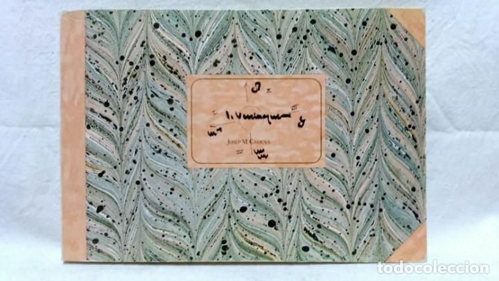 JOSEP VERDAGUER, BLOC DE NOTES ARTÍSTIQUES. POR JOSEP M. CADENA. ED. AMBIT, 1984. CON DEDICATORIA. (Libros de Segunda Mano - Bellas artes, ocio y coleccionismo - Pintura)