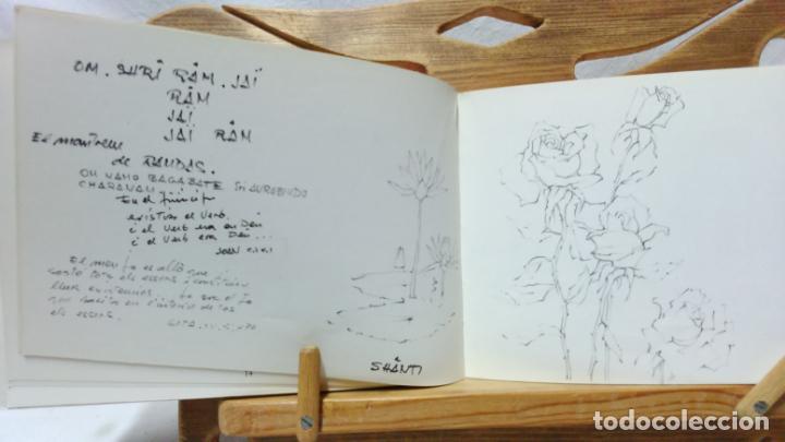 Libros de segunda mano: JOSEP VERDAGUER, BLOC DE NOTES ARTÍSTIQUES. POR JOSEP M. CADENA. ED. AMBIT, 1984. CON DEDICATORIA. - Foto 4 - 133094918