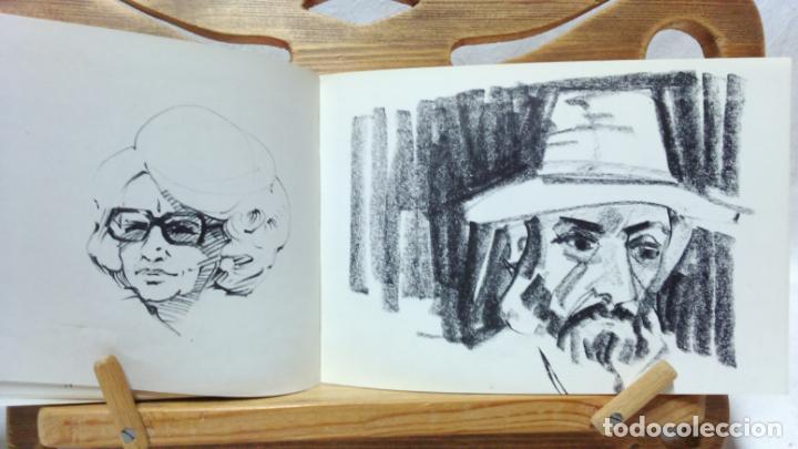 Libros de segunda mano: JOSEP VERDAGUER, BLOC DE NOTES ARTÍSTIQUES. POR JOSEP M. CADENA. ED. AMBIT, 1984. CON DEDICATORIA. - Foto 5 - 133094918