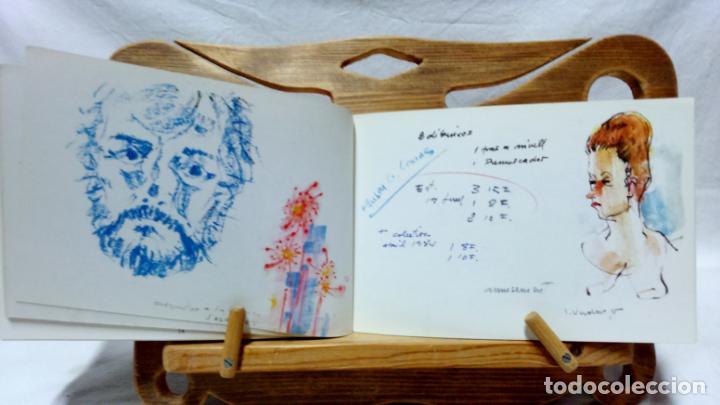 Libros de segunda mano: JOSEP VERDAGUER, BLOC DE NOTES ARTÍSTIQUES. POR JOSEP M. CADENA. ED. AMBIT, 1984. CON DEDICATORIA. - Foto 7 - 133094918