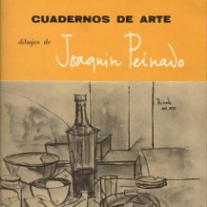 Libros de segunda mano: DIBUJOS DE JOAQUÍN PEINADO. CUADERNOS DE ARTE Nº 4. Lote 133625242