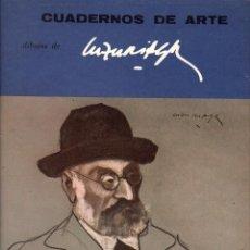 Libros de segunda mano: DIBUJOS DE LUZURIAGA. CUADERNOS DE ARTE Nº 57. Lote 133625386