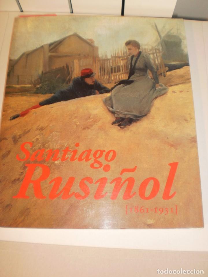 SANTIAGO RUSIÑOL (1861-1931) MNAC MAPFRE CATÁLOGO1997 (CASTELLANO) 317 PÁG. A COLOR (ESTADO NORMAL) (Libros de Segunda Mano - Bellas artes, ocio y coleccionismo - Pintura)