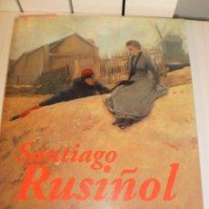 Libros de segunda mano: SANTIAGO RUSIÑOL (1861-1931) MNAC MAPFRE CATÁLOGO1997 (CASTELLANO) 317 PÁG. A COLOR (ESTADO NORMAL). Lote 133683254