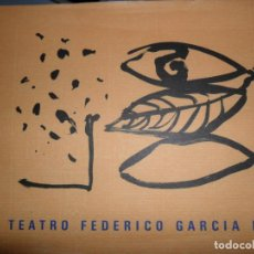 Libros de segunda mano: EL TEATRO FEDERICO GARCÍA LORCA, FREDERIC AMAT. Lote 134104950