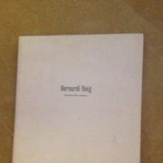Libros de segunda mano: BERNARDÍ ROIG. BRASAS BAJO CENIZAS (CASAL SOLLERIC, AJUNTAMENT DE PALMA). Lote 135570967