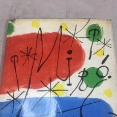 Libros de segunda mano: JOAN MIRÓ POR JAMES THRALL SOBY UNIVERSIDAD DE PUERTO RICO, MUSEO ARTE MODERNO NEW YORK 1960. Lote 136348766