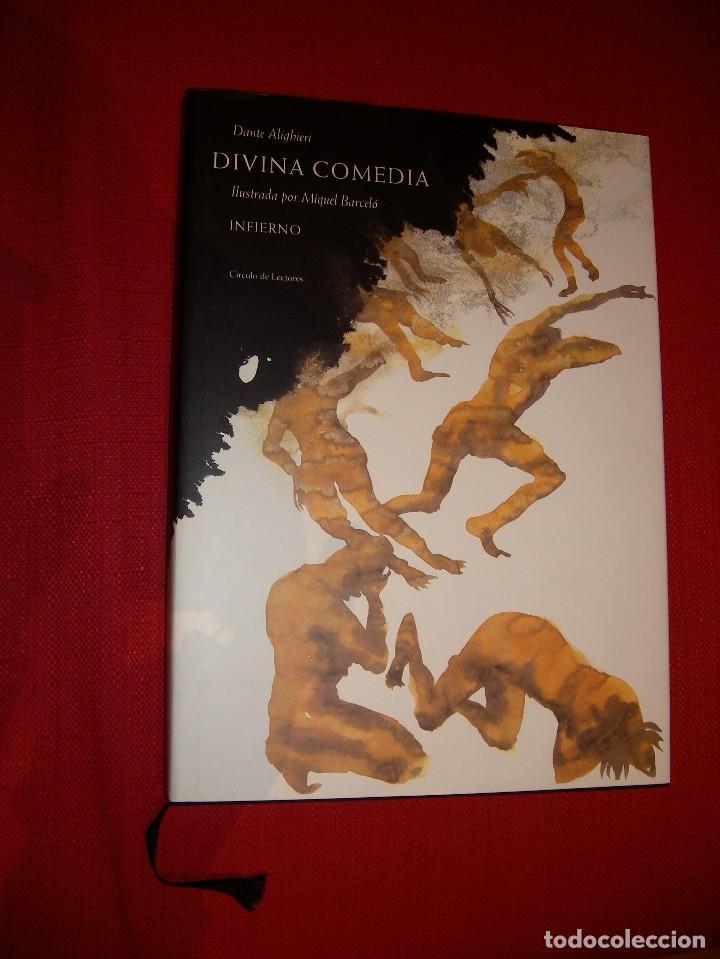 Libros de segunda mano: La Divina Comedia Autor: Dante Alighieri. Ilustraciones de Miquel Barceló. - Foto 3 - 71719447