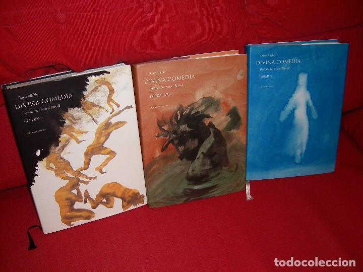 Libros de segunda mano: La Divina Comedia Autor: Dante Alighieri. Ilustraciones de Miquel Barceló. - Foto 2 - 71719447