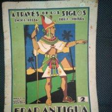 Libros de segunda mano: CUADERNO COLOREAR: A TRAVÉS DE LOS SIGLOS 2 EDAD ANTIGUA. ENCICLOPEDIA DIBUJO PINTURA ED ROMA. Lote 136826958
