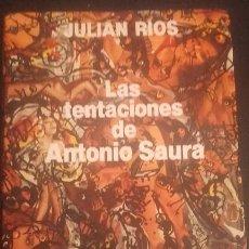 Libros de segunda mano - LAS TENTACIONES DE ANTONIO SAURA - 137933874