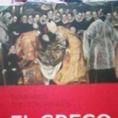 Libros de segunda mano: DOMENIKOS THEOTOKOPOULOS EL GRECO. Lote 138605378