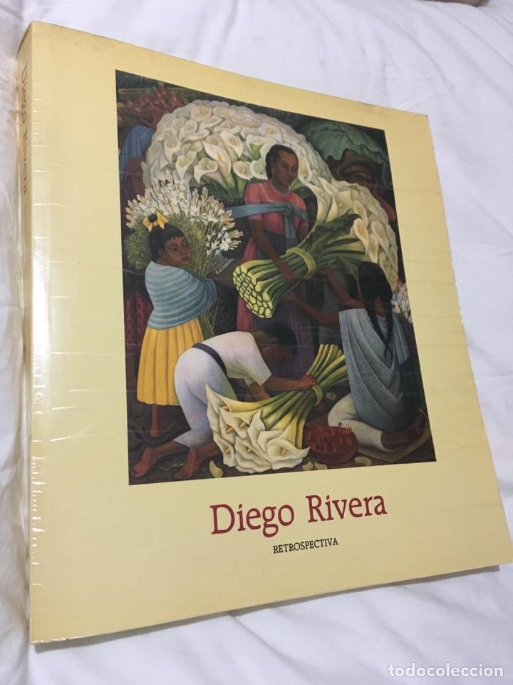 DIEGO RIVERA RESTROSPECTIVA (Libros de Segunda Mano - Bellas artes, ocio y coleccionismo - Pintura)