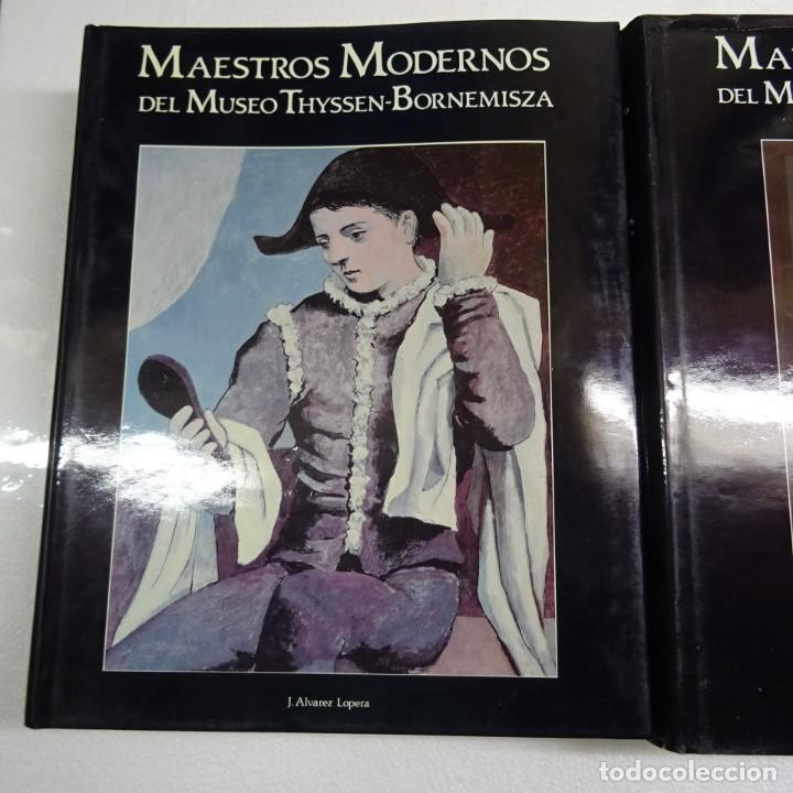 Libros de segunda mano: MAESTROS ANTIGUOS Y MODERNOS DEL MUSEO THYSSEN-BORNEMISZA LUNWERG 1994 2 VOLUMENES MUY BUEN ESTADO - Foto 2 - 139166150