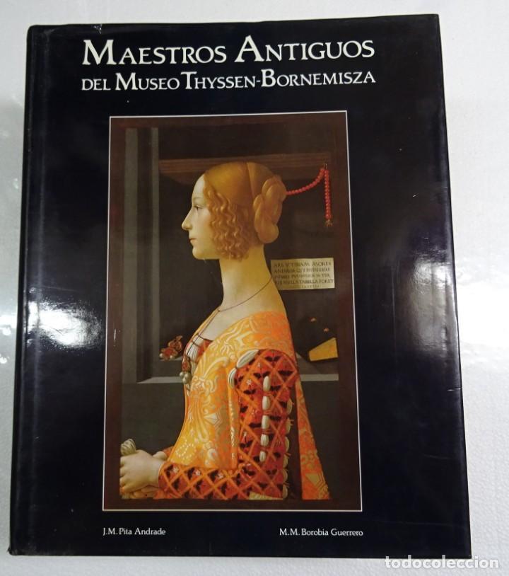 Libros de segunda mano: MAESTROS ANTIGUOS Y MODERNOS DEL MUSEO THYSSEN-BORNEMISZA LUNWERG 1994 2 VOLUMENES MUY BUEN ESTADO - Foto 3 - 139166150