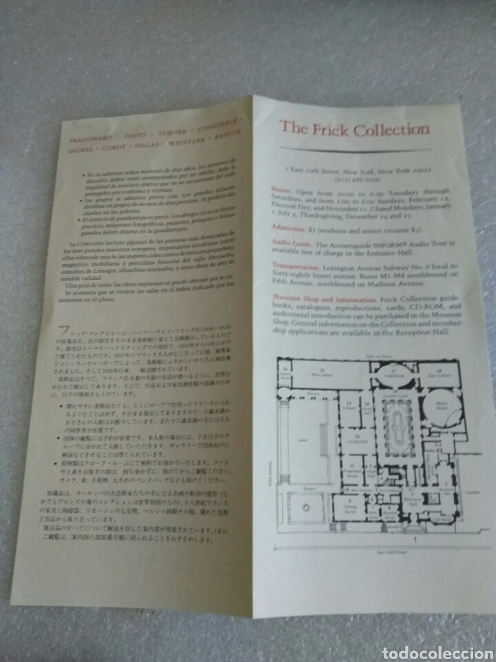 Libros de segunda mano: The Frick Collection. Handbook of Paintings. 1994 - Foto 4 - 139936494