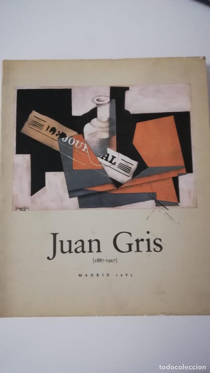 JUAN GRIS 1887-1927. MADRID 1985 (Libros de Segunda Mano - Bellas artes, ocio y coleccionismo - Pintura)