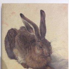 Libros de segunda mano: DURERO OBRAS MAESTRAS DE LA ALBERTINA. CATÁLOGO EXPOSICIÓN MUSEO DEL PRADO. 2005. Lote 140657022