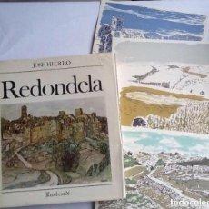 Libros de segunda mano: REDONDELA JOSE HIERRO INCLUYE 4 LITOGRAFÍAS ORIGINALES FIRMADAS Y NUMERADAS - ED. REMBRANDT 1979. Lote 140895362