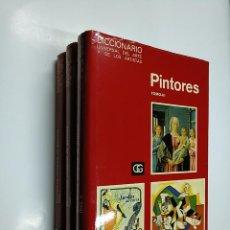 Libros de segunda mano: DICCIONARIO UNIVERSAL DEL ARTE Y DE LOS ARTISTAS. - PINTORES. - OBRA COMPLETA - 3 TOMOS. TDK354. Lote 140987318