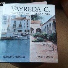 Libros de segunda mano: PINTURAS DE VAYREDA CANADELL. Lote 110555423