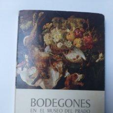 Libros de segunda mano: PINTURA ANTIGUA . . BODEGONES EN EL MUSEO DEL PRADO MARIANO SÁNCHEZ DE PALACIOS 1965. Lote 141676516