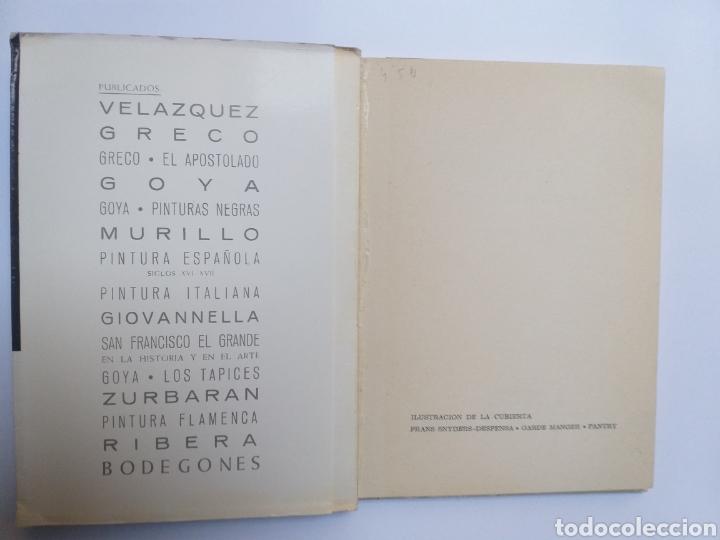 Libros de segunda mano: Pintura antigua . . Bodegones en el Museo del Prado Mariano Sánchez de Palacios 1965 - Foto 5 - 141676516