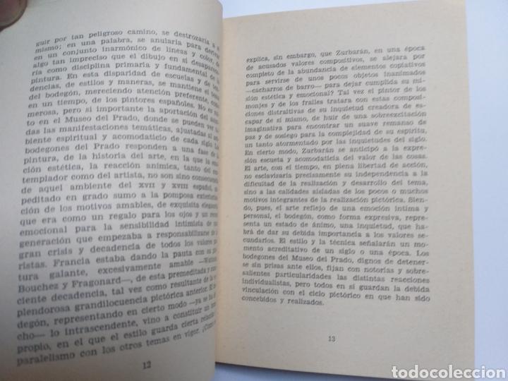 Libros de segunda mano: Pintura antigua . . Bodegones en el Museo del Prado Mariano Sánchez de Palacios 1965 - Foto 7 - 141676516