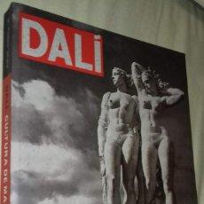Libros de segunda mano: DALÍ. CULTURA DE MASSES. CATÁLOGO DE LA EXPOSICIÓN DEL CAIXAFORUM DE BARCELONA EN 2004.. Lote 141716846