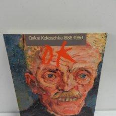 Libros de segunda mano: OSKAR KOKOSCHKA 1886-1980 ED. AJUNTAMENT DE BARCELONA. 1980 LIBRO PINTURA. Lote 142127994