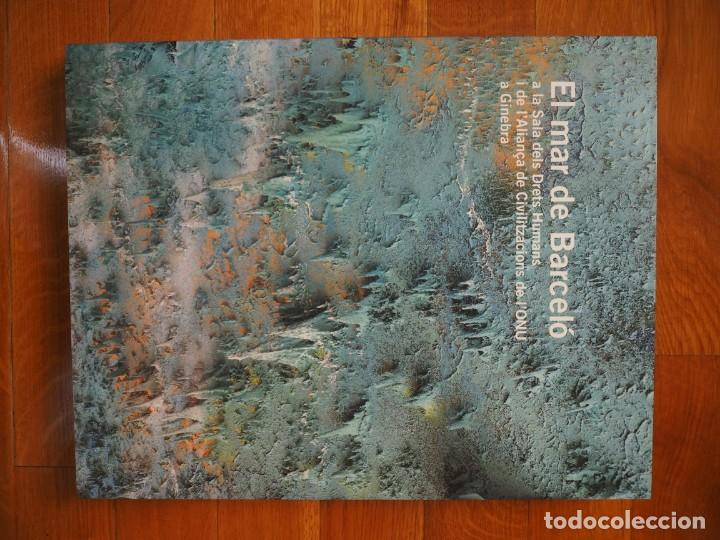Libros de segunda mano: El mar de Barceló. Textos,Rodrigo Rey Rosa. Fotografíes,Agustí Torres. En catalán. Edicions 62.2008. - Foto 2 - 142168658