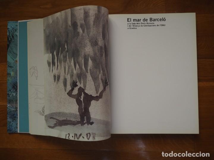 Libros de segunda mano: El mar de Barceló. Textos,Rodrigo Rey Rosa. Fotografíes,Agustí Torres. En catalán. Edicions 62.2008. - Foto 4 - 142168658