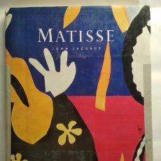 Libros de segunda mano: MATISSE, JHON JACOBUS, HARRY N. ABRAMS S.P.A.D.E.M 1983, LIBRO SOBRE ARTE, PINTURA. Lote 142272526