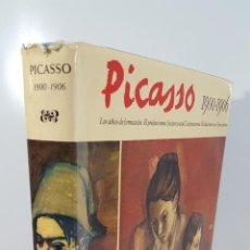 Libros de segunda mano: PICASSO 1900-1906. PIERRE DAIX Y GEORGES BOUDAILLE. EDIT BLUME. BARCELONA. 1972.. Lote 142413754