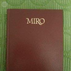 Libros de segunda mano: MIRÓ. ROLAND PENROSE. Lote 142740098