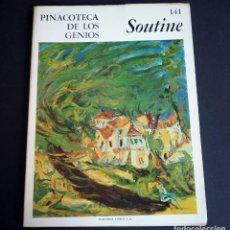 Libros de segunda mano: SOUTINE. PINACOTECA DE LOS GENIOS 141. EDITORIAL CODEX, S.A. AÑOS 60. Lote 143153210