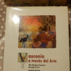 Libros de segunda mano: LIBRO - VASCONIA A TRAVÉS DEL ARTE - J. RAMÓN FERNÁNDEZ - MCC -. Lote 143232154