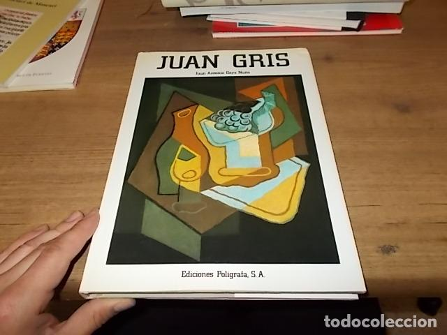 Libros de segunda mano: JUAN GRIS . JUAN ANTONIO GAYA NUÑO. EDICIONES POLÍGRAFA. 1ª EDICIÓN 1985. EXCELENTE EJEMPLAR. FOTOS - Foto 2 - 143272186