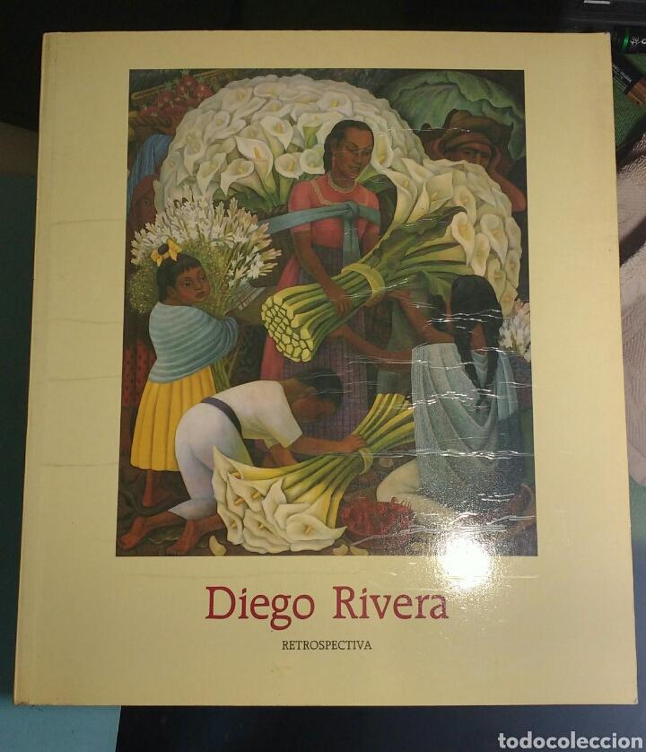 DIEGO RIVERA. RETROSPECTIVA (Libros de Segunda Mano - Bellas artes, ocio y coleccionismo - Pintura)