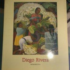 Libros de segunda mano: DIEGO RIVERA. RETROSPECTIVA. Lote 143650886
