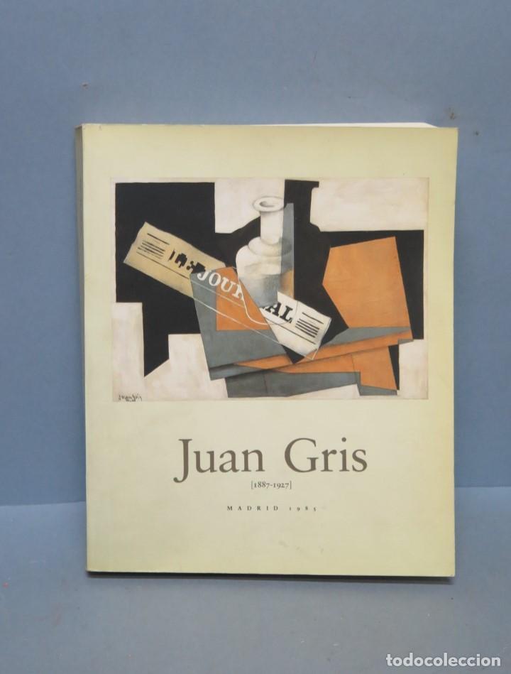 JUAN GRIS. MADRID. 1985 (Libros de Segunda Mano - Bellas artes, ocio y coleccionismo - Pintura)