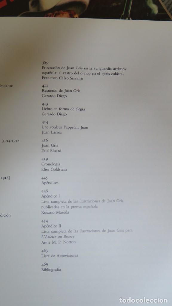 Libros de segunda mano: JUAN GRIS. MADRID. 1985 - Foto 3 - 143802778