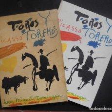 Libros de segunda mano: PICASSO. TOROS Y TOREROS. IMPRESIONANTE OBRA DE ARTE. Lote 143986490